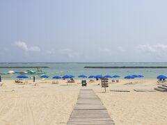 マエサトビーチへ。