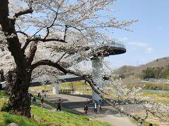 しばた千桜橋 白石川堤一目千本桜と船岡城址公園を結ぶ高架橋。