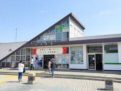 大河原駅から次は白石駅へ移動します。