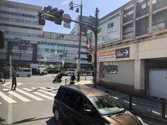 あべの橋/天王寺駅までは約25分で到着。