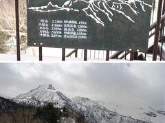 黒岳から旭岳の方向には大雪山連邦の山が連なります。冬山は人を寄せ付けない神々しさがありますね。
