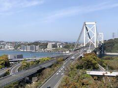 最終日も最高のお天気でスタート!  約35年ぶり(?)に門司港に来たんで、その時にも登った和布刈公園まで!