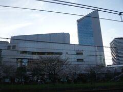 リリアという川口の総合文化センターです。  川口駅から見えます。