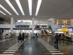 神戸空港からの出発は初です