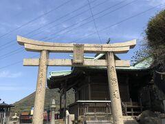 和布刈神社参拝者用の駐車場に停めることができた!