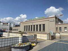 今回は上野駅からスタートです。 いい天気に恵まれました。