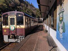 15:57 桐生行きの列車が入線 (結局、予定より1時間早くなりました)