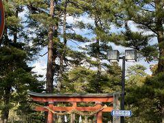 金澤神社前。