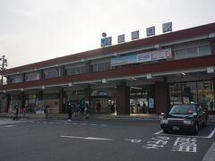 ●JR宮島口駅  JR河内駅から広島市内を越えて、JR宮島口駅までやって来ました。 所要時間は約85分です。
