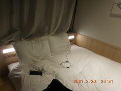 ホテルに帰着後は、いつもの大浴場で疲れを癒して就寝。