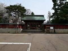 尾崎神社です、本当は尾山神社に行くつもりだったのですが間違えました。