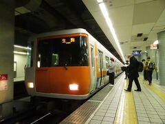 2021.03.20 森ノ宮 森ノ宮からは大阪メトロ中央線。そのまま近鉄に乗り入れて生駒へ。電車は近鉄の車両。
