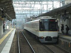 2021.03.20 大和西大寺ゆき準急列車車内 菖蒲池を出ると次は…