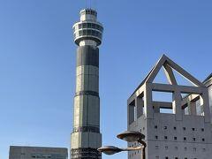 マリンタワー。 2022年4月にリニューアルオープンの予定とか。 ロープウェイも含めて再訪したいエリアですね~