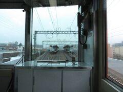 2021.03.21 尼崎ゆき急行列車車内 2面4線の千船を通過。