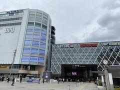 水戸駅に到着。 まだ昼なので、少し観光をしていきます。