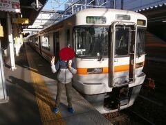 武豊線へ直通しますが、大府駅で少し停車時間がありました。
