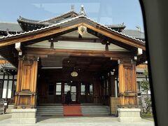 こちらも由緒あるホテル奈良ホテル。