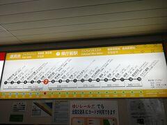 再び那覇空港駅へ向かいます。運賃が270円って高ぇー。