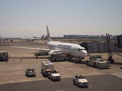 夜勤明け、忙しかったけど、なんとか定時で上がって、そのまま羽田空港へ!!
