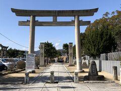 その先にある大石神社。