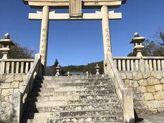 ホテルのすぐ裏手にある伊和都比売神社。タクシーのドライバーさんによると大石神社よりはかなり歴史のある神社とのこと。