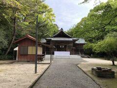江田神社につきました