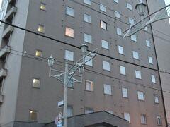 道東旅行3日目朝です。 昨日到着した際は暗かったので、明るい状態でホテル外観を一枚。 ホテルパコ釧路です。
