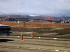 1984年 サンフランシスコ 定番観光地のゴールデンゲートブリッジ