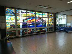 朝早く、鹿児島空港着。