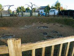 駅近くにあるのは高麗村石器時代住居跡 埼玉県内で初めて縄文時代の竪穴式住居跡を発掘調査した遺跡です。