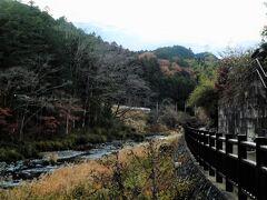 良かった。 暗くなる前に林を抜けることができました。 今回も高麗川横手渓谷を歩く。
