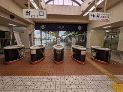 そうこうしているうちに伊豆急下田駅に到着しました。2時間ちょっとで39,000円の価格設定はコストパフォーマンス的には割高に感じました。