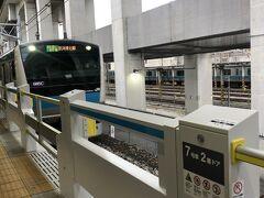 今回はゆっくり。7時半に東十条駅を出発。