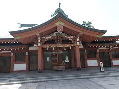 本丸に建つ吹揚神社。 歴史は意外に新しくて廃藩になった時に市内にあった4つの神社をまとめてまとめて作ったんだとか。 なので創建は明治5年。 末社も境内には3社くらいあってそれぞれなかなかの立派さでした