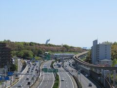 さぁて、モノレールの山田駅です。2週間前に仙台に行った時は雨でしたが今日は良い天気