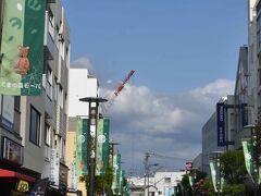 辻堂駅南口の東側は空が広く感じます。