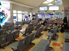 宮古空港の搭乗待合室です。