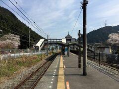 青梅線 沢井駅のホーム
