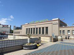 今週も上野駅からスタートです。 先週以上に空が青く澄み渡っています。