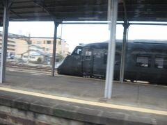 大牟田あたりで離合した、上り博多行きの特急「リレーつばめ」。