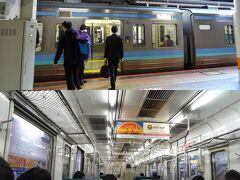 立川駅で、中央本線の大月行に乗リ換えるヨ。  確かに人はいるケド、 密になるような場所は、次の一か所以外には無かったヨ。 この辺りは、東京都民はさすがだと思ったヨ。
