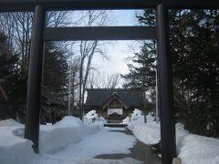 で、旅の無事を祈って、恒例の和寒神社祈願。  まあ、この日は旭川に往復するだけ、なんやけどね…。