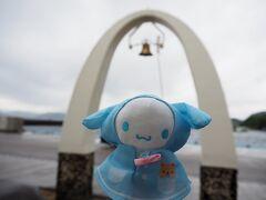 <古仁屋港> 港に着いた時は大雨。フェリーが運行されるのかギリギリまでわからないと微妙な感じ。 船は出るかな? 照ちゃん頑張って!