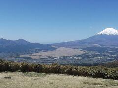 富士見ヶ丘公園 ベンチはありませんが、展望はこちらが上かも