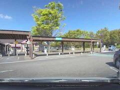 牧之原SA(下り線)で休憩しました。  ※ドライブレコーダーとカーナビを使って静止画を撮っています。