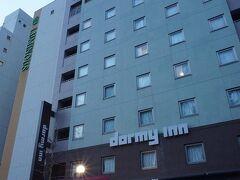 ●ドーミーイン広島  宿泊したドーミーイン。 平和通りに面しており、平和記念公園がとっても近いです。