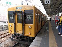 ●JR福山駅  乗車していた電車は、黄色のワンマンカー車両でした。 またね、JR福塩線!