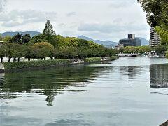 ご飯も食べてチェックアウト。 向かう先は平和記念公園です。 ホテルから公園までは10分程度です。