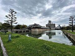 広島城です。現在は本丸と二の丸、内堀が残るのみです。